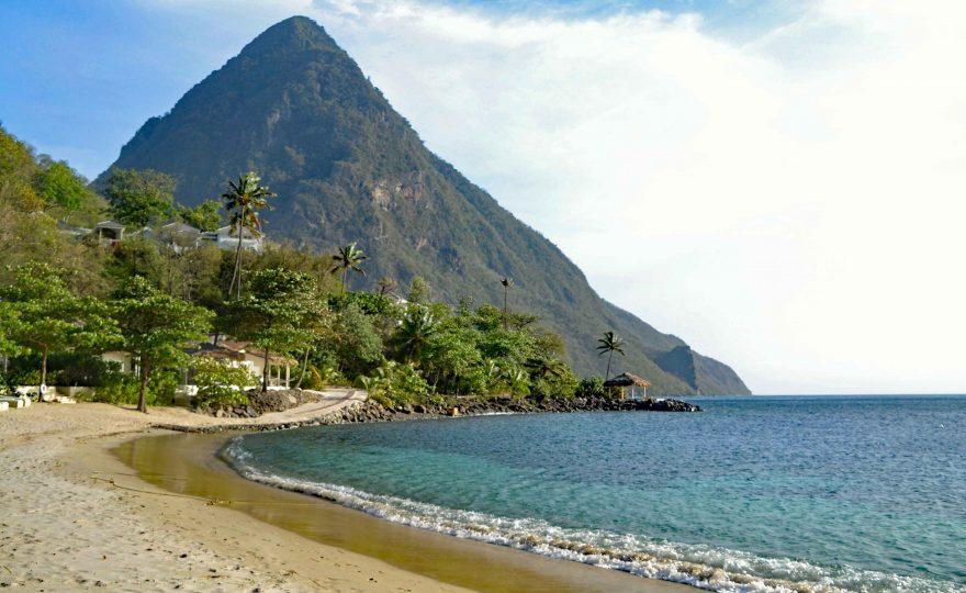 Caribbean - Pitons at Sugar Beach